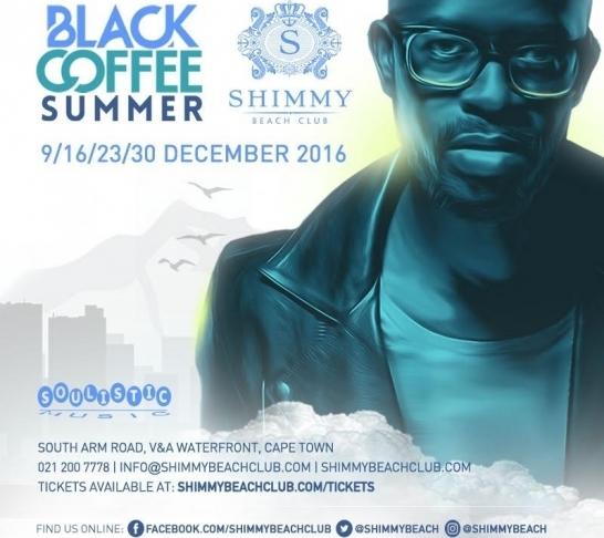 Black Coffee | Shimmy Beach Club