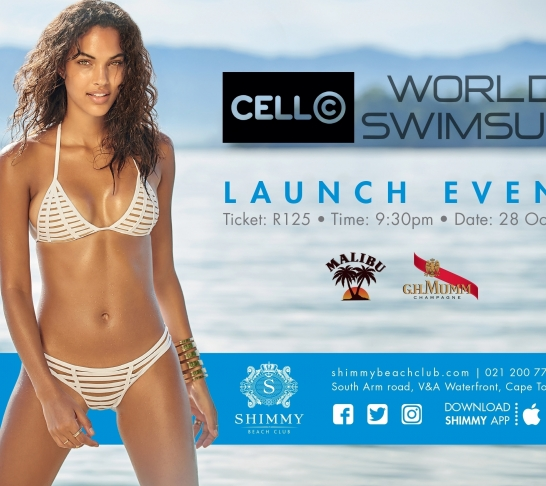 World Swimsuit Launch, in Partnership with Cell C | Shimmy Beach Club